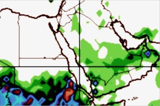 """""""الحربي"""": حالة مطرية تؤثر على مناطق واسعة من السعودية"""