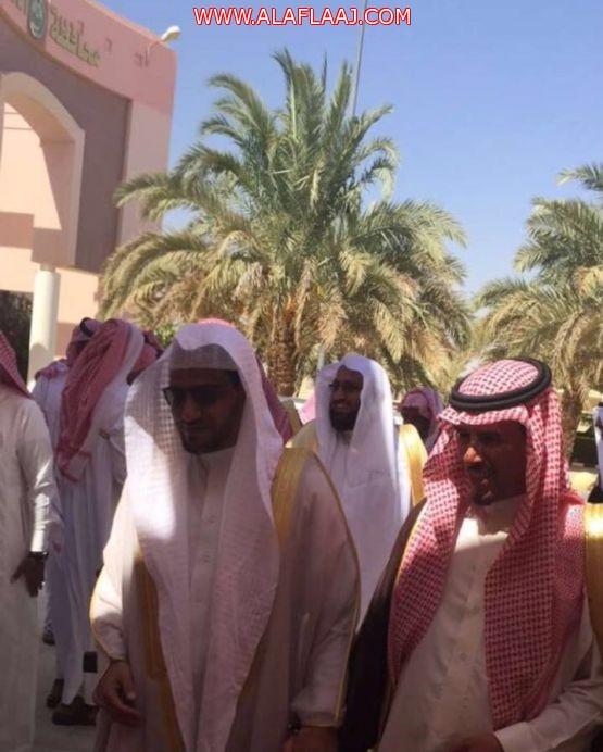 محافظ الأفلاج ومدير إدارة المساجد يستقبلان المغامسي