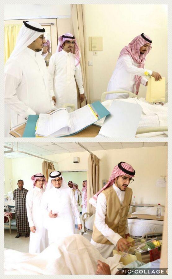 """فريق """"بناء"""" تنمية الأفلاج يعايد مرضى مستشفى الأفلاج"""