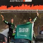 يزيد الراجحي يحقق المركز الثالث رالي استراليا