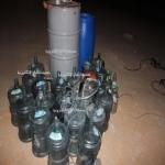 الهيئة تكشف مصنع للخمور بأحد أحياء المحافظة
