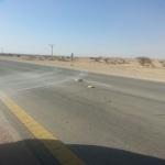 سكان طريق الغيل ستاره يعانون تهور واستهتار سائقى الشاحنات