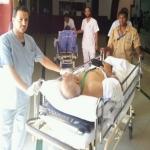 تصعيد قافلة الحجاج المنومين بمستشفى الملك عبدالعزيز لعرفات