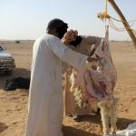 أهالي الافلاج يلجؤون للجزارين غير النظاميين.. وذبح الأضحية بـ 120 ريال