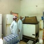 بلدية الأفلاج تقوم بجولات تفتشية على المطاعم وتسجل مخالفات نظامية
