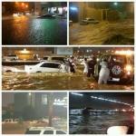 الأمطار تكشف سوء التصريف في العاصمة الرياض وأهالي الأفلاج ينتضرون إختبار مشاريع السيول بالافلاج