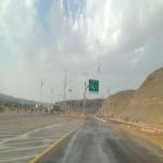 أمطار على الهدار والدفاع المدني بلا سيارة إنقاذ