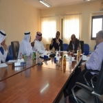 المجلس الاستشاري لقسم اللغة الإنجليزية بكليات الأفلاج يعقد إجتماعة الأول