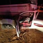 فوة المهمات والواجبات الخاصة تنقذ مواطن بعد إحتجازة في حادث بالأفلاج  وحالته خطرة