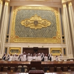 بالصور ثانوية الأحمر في مجلس الشورى