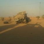 حادث مروري بالمحافظة يدخل مواطن العناية المركزة