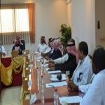 مدير مستشفى الأفلاج العام يترأس إجتماع مع مدراء المراكز الصحية بالمحافظة