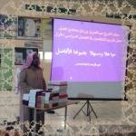 حلقة الشيخ ابن باز بالغيل تكرم المنتظمين والمشاركين