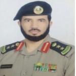 العقيد / مفلح الدرع مدير شرطة السليل يتعرض لحادث مروري