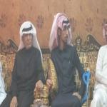 أسرة رجل الأمن محمد الجزاء تحتفل بخروج إبنهاء من المستشفى