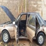 بالصور احتراق سيارة  بحي الجفيدرية بالأفلاج بفعل فاعل