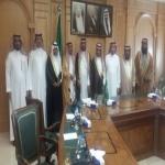 وزير الصحة يستقبل رئيس وأعضاء بلدي الهدار