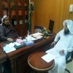 الفيفي : يستقبل رئيس المجلس البلدي الشيخ مرضي الحبشان