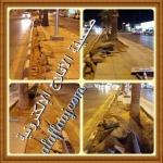 مواطنين : متى يتم الأنتهاء من أرصفة طريق الملك عبدالله
