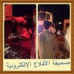 شاحنة تصرع 9 أشخاص من عائلة واحدة من أهالي الأفلاج
