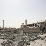 انهيار مبنى  سوق نايف غاليري
