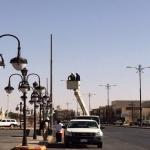 الشركة السعودية للكهرباء تبدأ المرحلة الأولى من تحويل شوارع المحافظة لكيابل أرضية بدلآ من الأعمدة