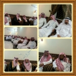 الشيخ ال دريس  يزور محاكم الأفلاج ومدير مكتبة يقيم وليمة عشاء تكريمآ له