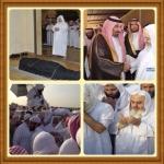 بالصور: جموع غفيرة تشيع نجل الشيخ المنجد إلى مقبرة الدمام -