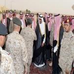 """ولي العهد وملك البحرين وولي عهد أبوظبي في ختام مناورات """"سيف عبد الله"""""""