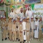 روضة الأطفال بلجنة التنمية الاجتماعية الأهلية بمروان في زيارة لمدرسة سعد بن أبي وقاص الإبتدائية