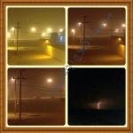 موجة غبار تقطع الكهرباء وأمطار خفيفة على بعض القرى