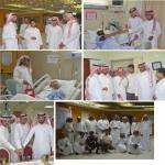 مستشفى الأفلاج يستقبل طلاب ملتقيات الأندية الصيفية بإدارة التعليم وجامعة سلمان