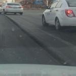 المسافرون والأهالي يأملون إصلاح طريق الملك عبدالعزيز