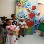 القسم النسائي بمركز التنمية الاجتماعية في الأفلاج قيم برنامجا لمعايدة المرضى