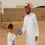 مكتب تعاوني البديع يوزع هدايا العيد على الأطفال  بالتعاون مع فريق بادر التطوعي بمركز سويدان