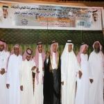 محافظ الأفلاج ورئيس البلدي يرعون إحتفال أهالي المبرز