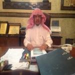 الشيخ محمد بن مشنان المبارك يباشر عمله