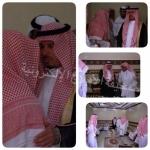 محافظ الأفلاج ينقل تعازي أمير منطقة الرياض لذوي فقيد الأفلاج الشيخ إبراهيم الخرعان
