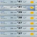 الخضاري : انخفاض في درجات الحرارة على عموم مناطق المملكة الأسبوع المقبل