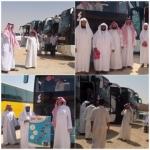 حملة جمعية الأفلاج الخيرية تسير حملتها لحج هذا العام بـ 260 حاج