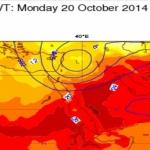 الخضاري : بمشيئة الله منخفض جوي بأمطار غزيرة سيؤثر على الشام والعراق وشمال شرق المملكة