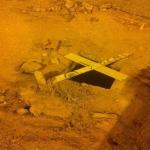 فتحات الصرف الصحي المفتوحة باﻷفلاج كمين أرضي ينتظر اصطياد المارة