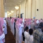 جموع غفيرة تودع الحديبي وسفير الكويت يقدم التعازي