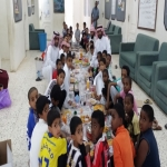 بالصور مدرسة ابن رواحة والتحفيظ بالأحمر تقيم إفطار يوم عاشوراء بالمدرسة