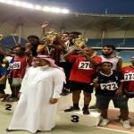 التوباد يحصل على المركز الثالث لبطولة اختراق الضاحية لمنطقة الرياض