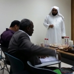 الشيخ حبشان الحبشان يحصل على شهادة الماجستير