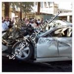 حادث مروري يدخل مواطن العناية المركزة