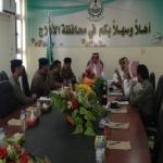 اللجنة الأمنية تناقش سرقات الكيابل والطاقة الشمسية التابعة لشركة أرامكو