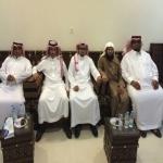 وفد من نادي إنسان اﻻجتماعي في ضيافة مسفر العرجاني  عضو المجلس البلدي