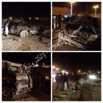إصابة ثلاثيني انقلبت سيارته في البديع جنوب الأفلاج
